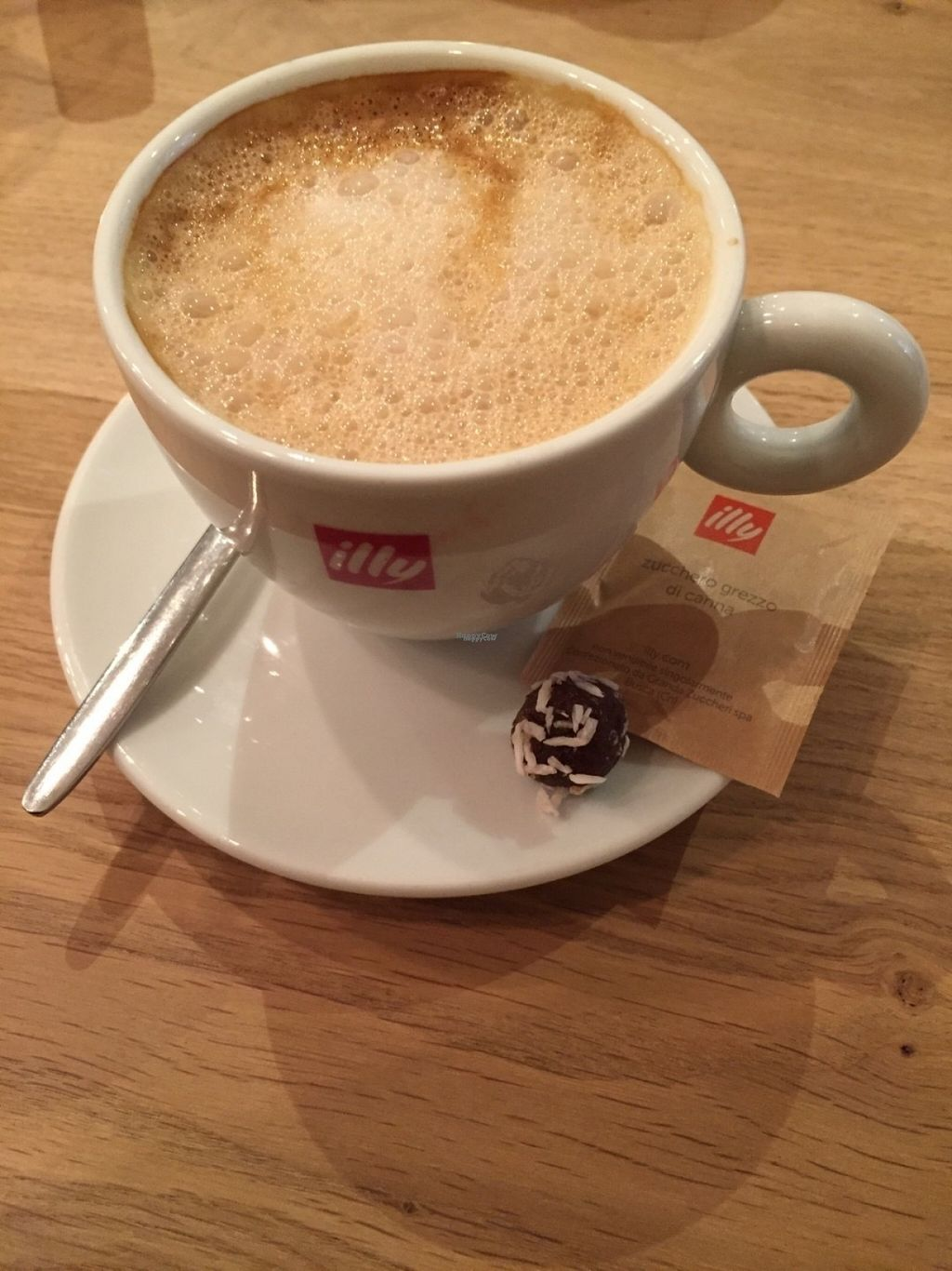 """Photo of CLOSED: FreshMoods  by <a href=""""/members/profile/Vanya"""">Vanya</a> <br/>Coffee with almondmilk and a vegan snack <br/> November 3, 2016  - <a href='/contact/abuse/image/77787/186450'>Report</a>"""