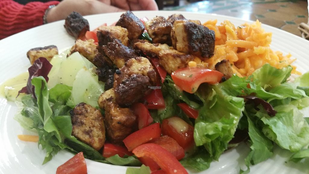 "Photo of Refugio  by <a href=""/members/profile/Mallorcatalks"">Mallorcatalks</a> <br/>The delicious ""like-meat"" salad <br/> August 10, 2016  - <a href='/contact/abuse/image/77788/167469'>Report</a>"