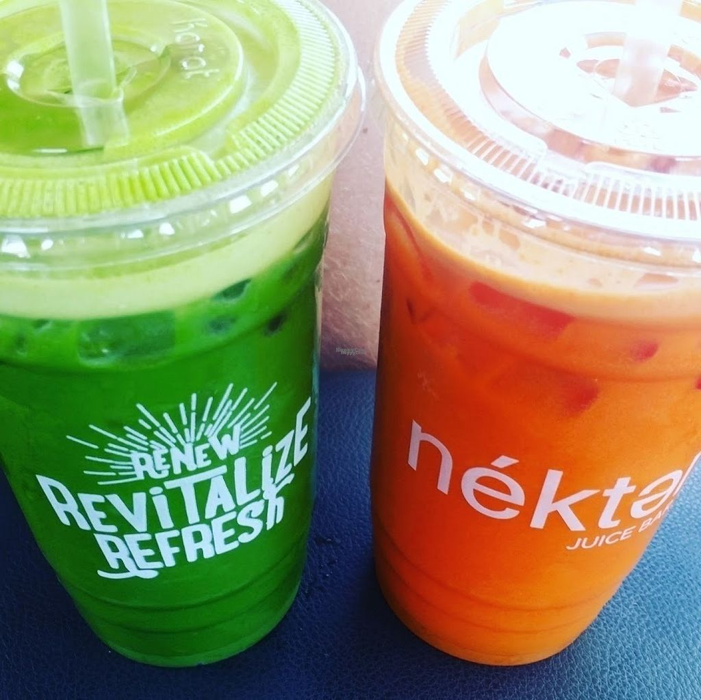 """Photo of Nekter Juice Bar  by <a href=""""/members/profile/AlyssaWagner"""">AlyssaWagner</a> <br/>The Toxin Cleanse and the Buzz! <br/> August 2, 2016  - <a href='/contact/abuse/image/77793/164631'>Report</a>"""