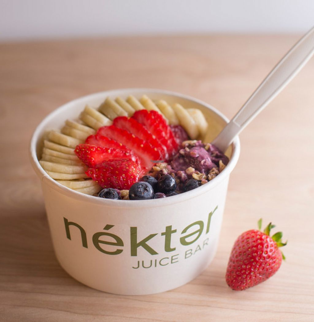 """Photo of Nekter Juice Bar  by <a href=""""/members/profile/AlyssaWagner"""">AlyssaWagner</a> <br/>Once of their Acai Bowls <br/> August 2, 2016  - <a href='/contact/abuse/image/77793/164661'>Report</a>"""