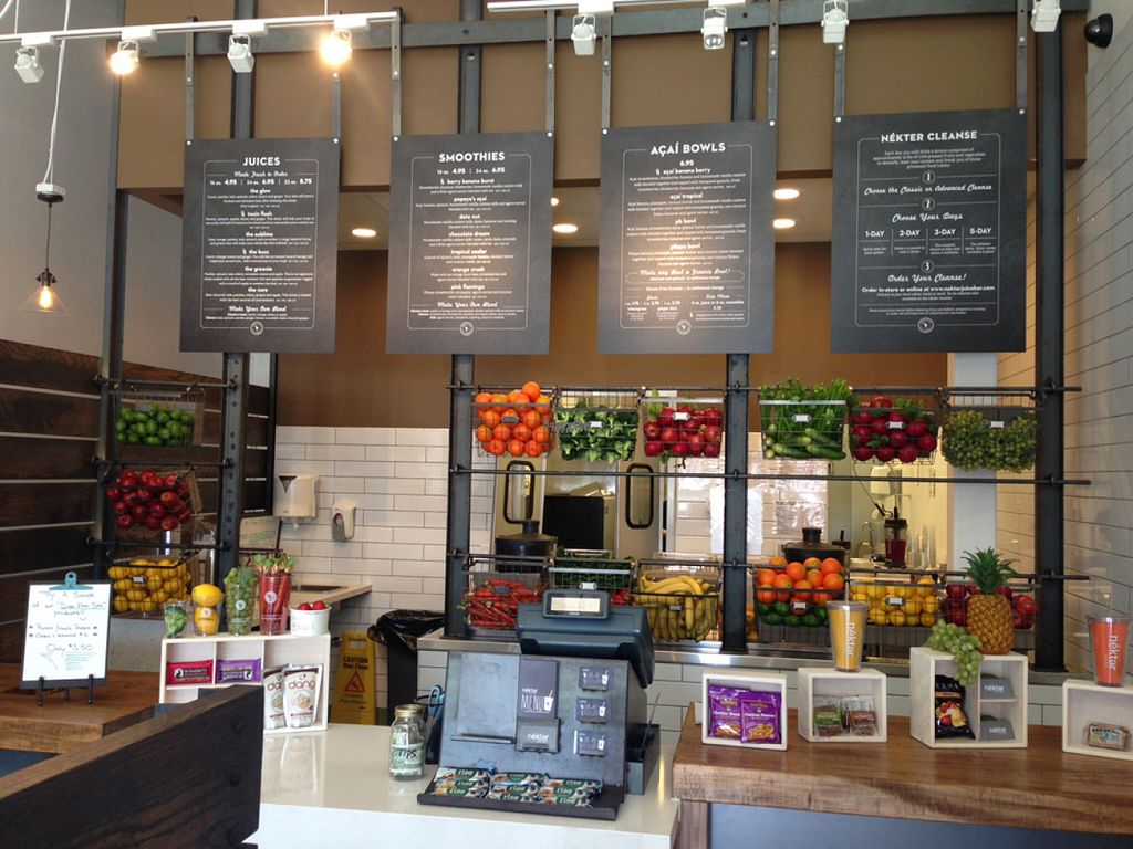 """Photo of Nekter Juice Bar  by <a href=""""/members/profile/AlyssaWagner"""">AlyssaWagner</a> <br/>Inside Nekter Juice Bar <br/> August 2, 2016  - <a href='/contact/abuse/image/77793/164662'>Report</a>"""