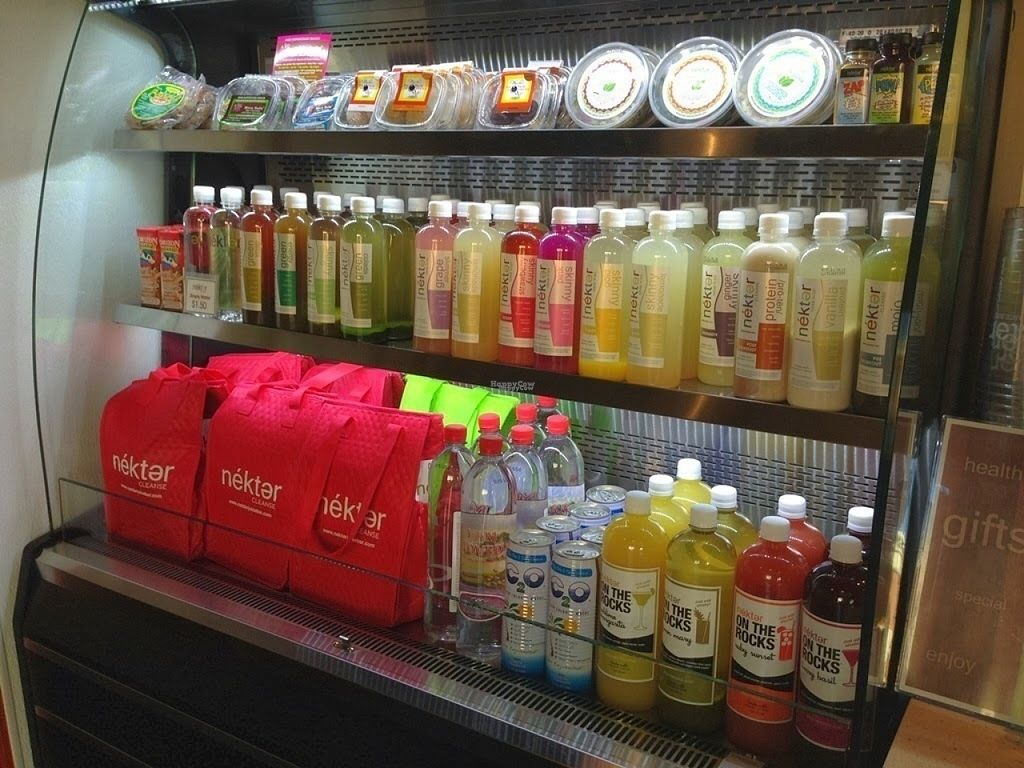 """Photo of Nekter Juice Bar  by <a href=""""/members/profile/AlyssaWagner"""">AlyssaWagner</a> <br/>Nekter offers many bottled juices too! <br/> August 2, 2016  - <a href='/contact/abuse/image/77793/164664'>Report</a>"""