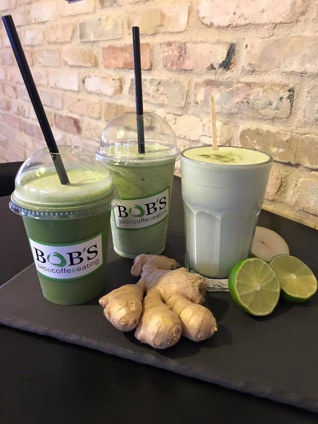 """Photo of Bob's Juicebar  by <a href=""""/members/profile/community"""">community</a> <br/>fresh juices  <br/> February 16, 2017  - <a href='/contact/abuse/image/77796/227011'>Report</a>"""