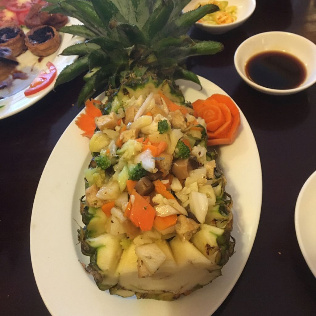 "Photo of Viet An  by <a href=""/members/profile/HollyCow"">HollyCow</a> <br/>Vietnamese Pineapple Fried Rice <br/> August 3, 2016  - <a href='/contact/abuse/image/77824/164777'>Report</a>"