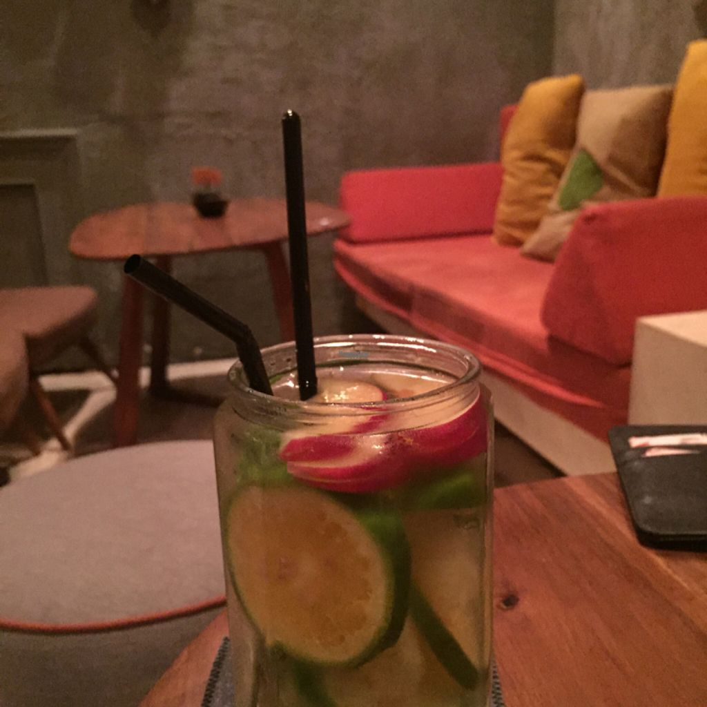 """Photo of The Fig Lounge & Coffee  by <a href=""""/members/profile/SusanRoberts"""">SusanRoberts</a> <br/>detox drink <br/> August 2, 2016  - <a href='/contact/abuse/image/77828/164697'>Report</a>"""