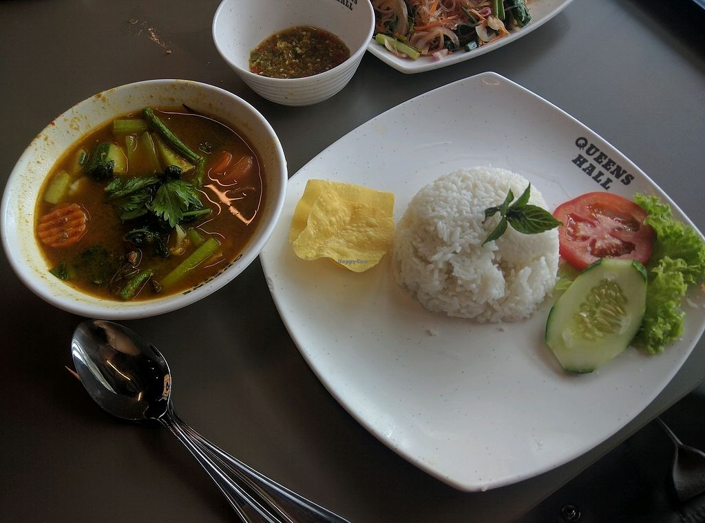 "Photo of Green Rabbit Vegetarian Kitchen  by <a href=""/members/profile/Summer_Tan"">Summer_Tan</a> <br/>R5: Kaeng Som Sour Curry Soup (Bangkok Style) - RM12.90 Sour, quite spicy and fragrant curry with fresh vegetables in it, with a portion of white rice. Pretty good <br/> February 3, 2018  - <a href='/contact/abuse/image/77842/354500'>Report</a>"