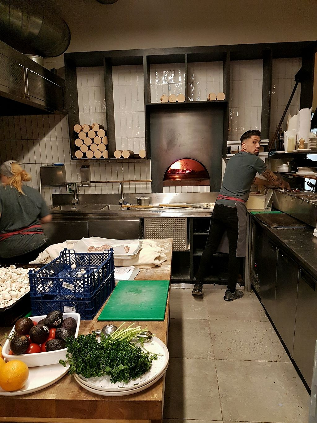 """Photo of Pinkmans  by <a href=""""/members/profile/Lotusblossom"""">Lotusblossom</a> <br/>wood fired oven in the restaurant <br/> October 11, 2017  - <a href='/contact/abuse/image/77847/314289'>Report</a>"""