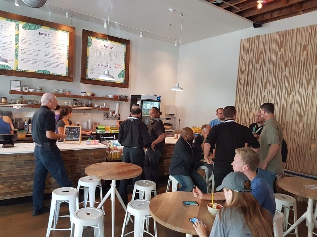 """Photo of Blenders & Bowls  by <a href=""""/members/profile/Avoavocadoamy"""">Avoavocadoamy</a> <br/>Nice atmosphere, modern. All kinds of people  <br/> August 8, 2016  - <a href='/contact/abuse/image/77853/166933'>Report</a>"""