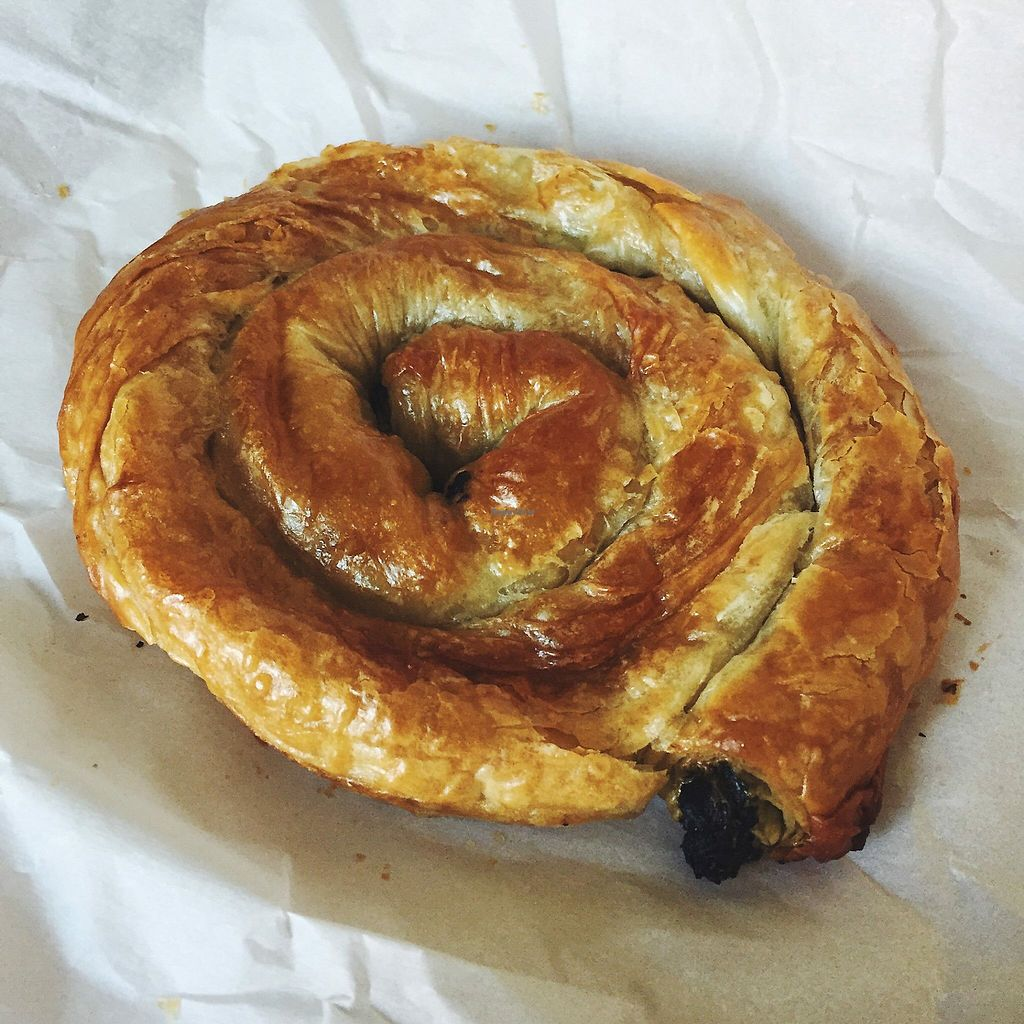 """Photo of BackWerk  by <a href=""""/members/profile/slovenianvegan"""">slovenianvegan</a> <br/>Vegan spinach börek <br/> May 22, 2018  - <a href='/contact/abuse/image/77858/403313'>Report</a>"""
