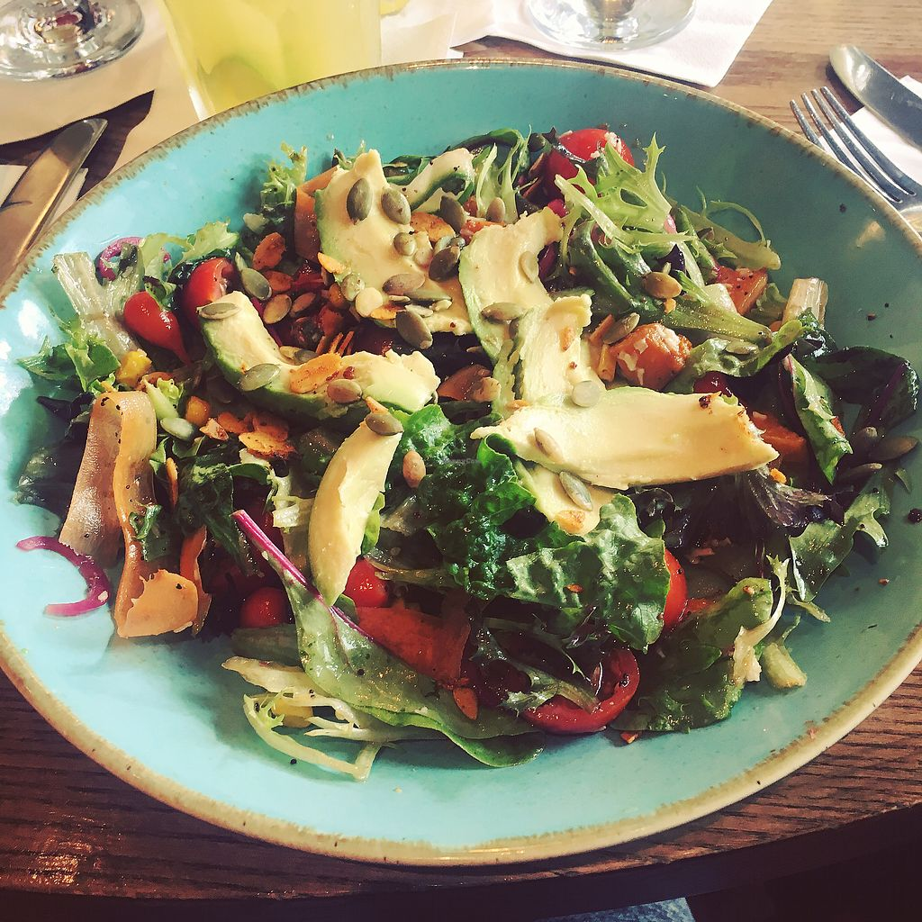 "Photo of Las Iguanas - Harbourside City Centre  by <a href=""/members/profile/ClareKnighton"">ClareKnighton</a> <br/>Superfood Salad <br/> September 30, 2017  - <a href='/contact/abuse/image/77871/310092'>Report</a>"