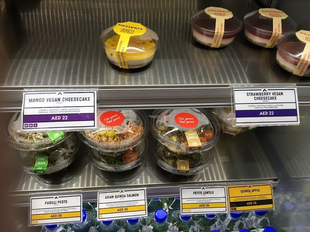 """Photo of Pret To Go  by <a href=""""/members/profile/wrathofmanatee"""">wrathofmanatee</a> <br/>Cheesecakes & lentil / quinoa salads <br/> August 4, 2016  - <a href='/contact/abuse/image/77887/165470'>Report</a>"""