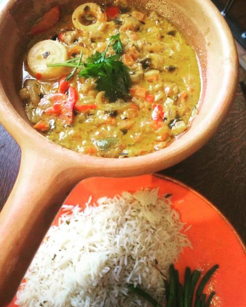 """Photo of Las Iguanas  by <a href=""""/members/profile/Meaks"""">Meaks</a> <br/>Moqueca de Palmitos <br/> August 3, 2016  - <a href='/contact/abuse/image/77920/165151'>Report</a>"""