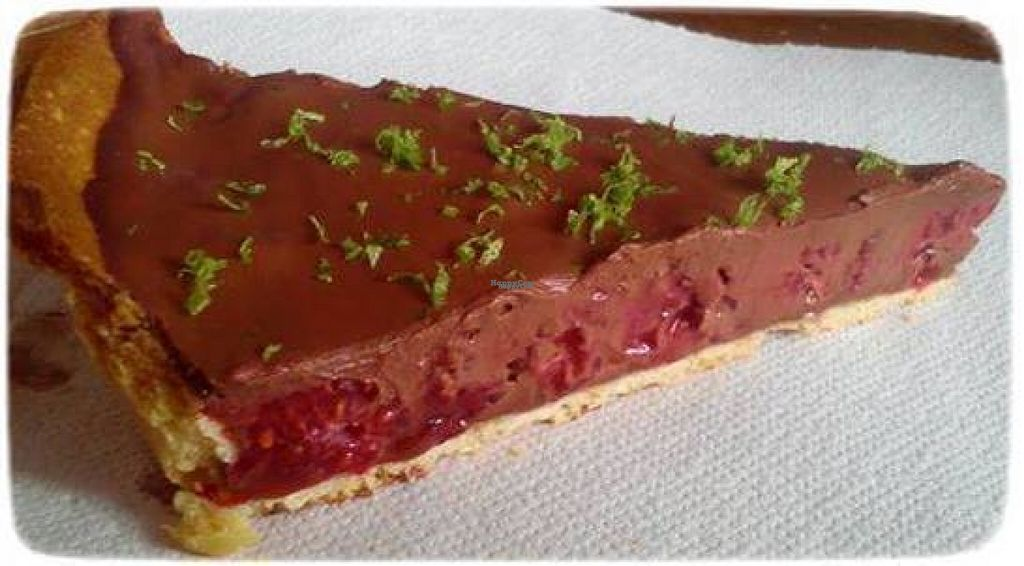"""Photo of La Cantine Mobile  by <a href=""""/members/profile/community"""">community</a> <br/>vegan chocolate tarte  <br/> August 14, 2016  - <a href='/contact/abuse/image/77927/168449'>Report</a>"""