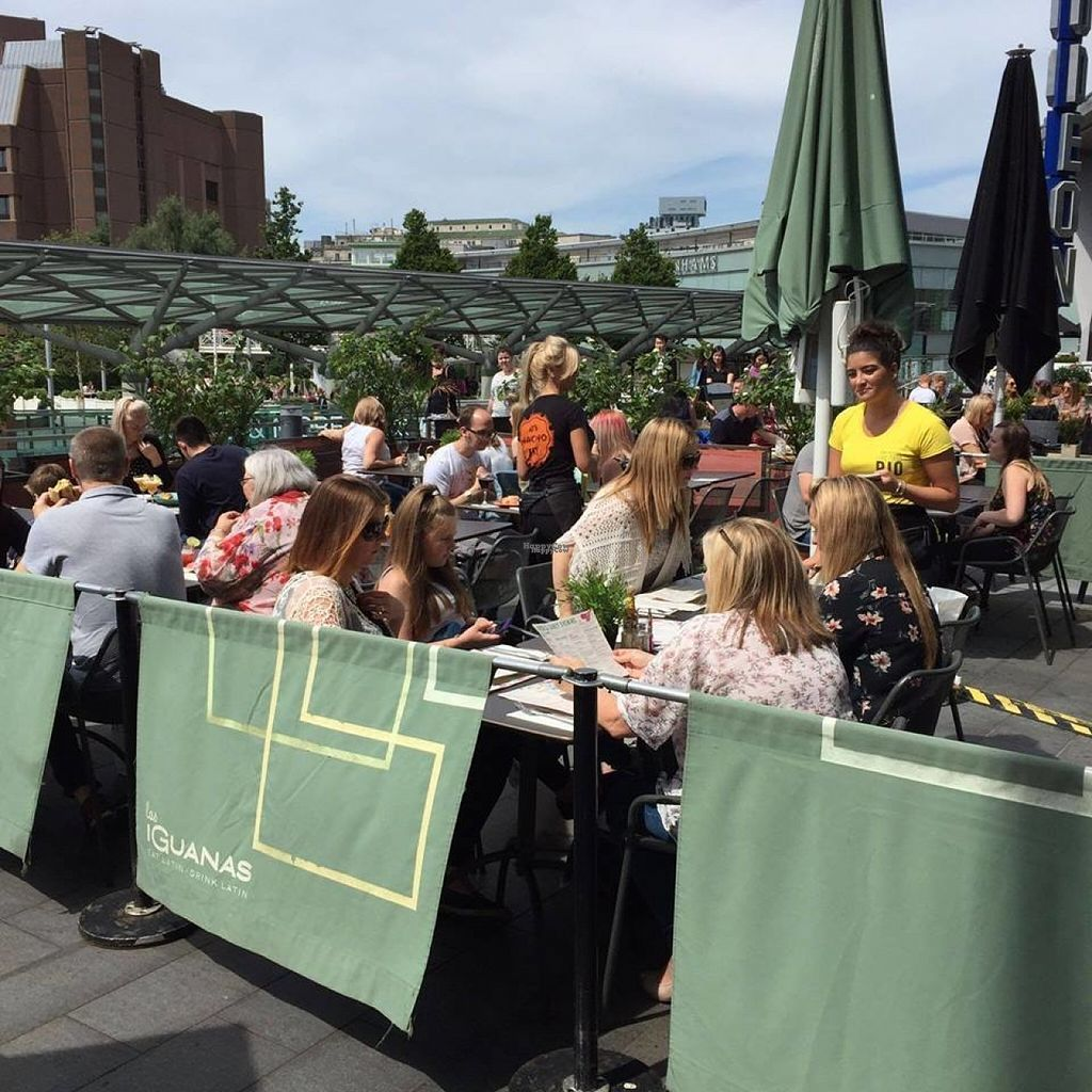"""Photo of Las Iguanas - Liverpool ONE  by <a href=""""/members/profile/Meaks"""">Meaks</a> <br/>Terrace <br/> August 3, 2016  - <a href='/contact/abuse/image/77929/165149'>Report</a>"""