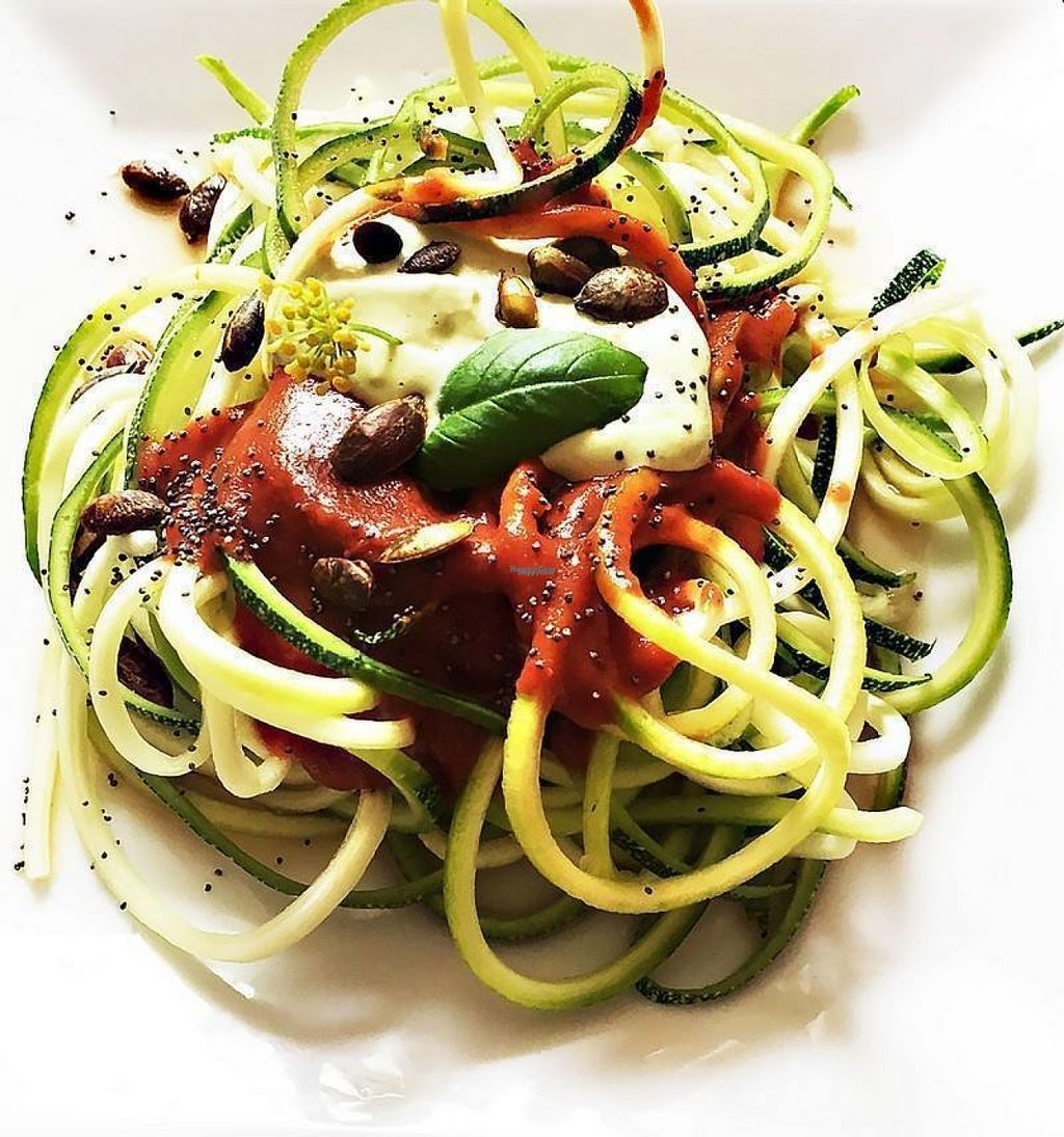"""Photo of Ma Part Verte  by <a href=""""/members/profile/community"""">community</a> <br/>raw pasta  <br/> August 14, 2016  - <a href='/contact/abuse/image/77934/168446'>Report</a>"""