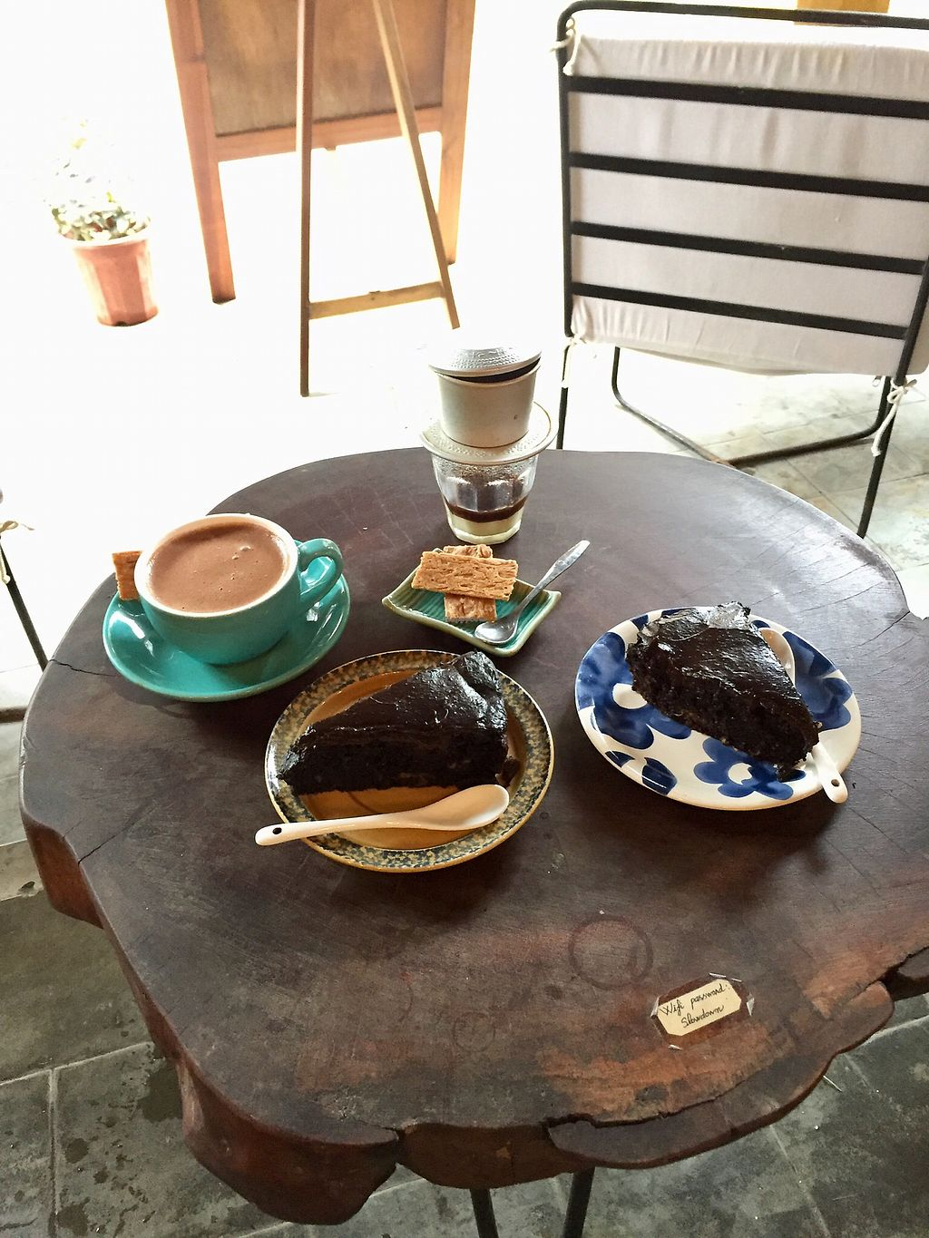 """Photo of Rosie's Cafe  by <a href=""""/members/profile/kars10"""">kars10</a> <br/>Vegan Chocolate Cake  <br/> February 1, 2018  - <a href='/contact/abuse/image/77938/353513'>Report</a>"""