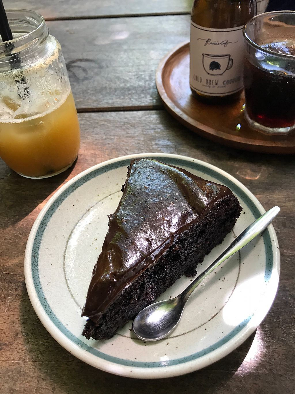 """Photo of Rosie's Cafe  by <a href=""""/members/profile/Milipili"""">Milipili</a> <br/>Vegan Cake  <br/> March 7, 2018  - <a href='/contact/abuse/image/77938/367656'>Report</a>"""