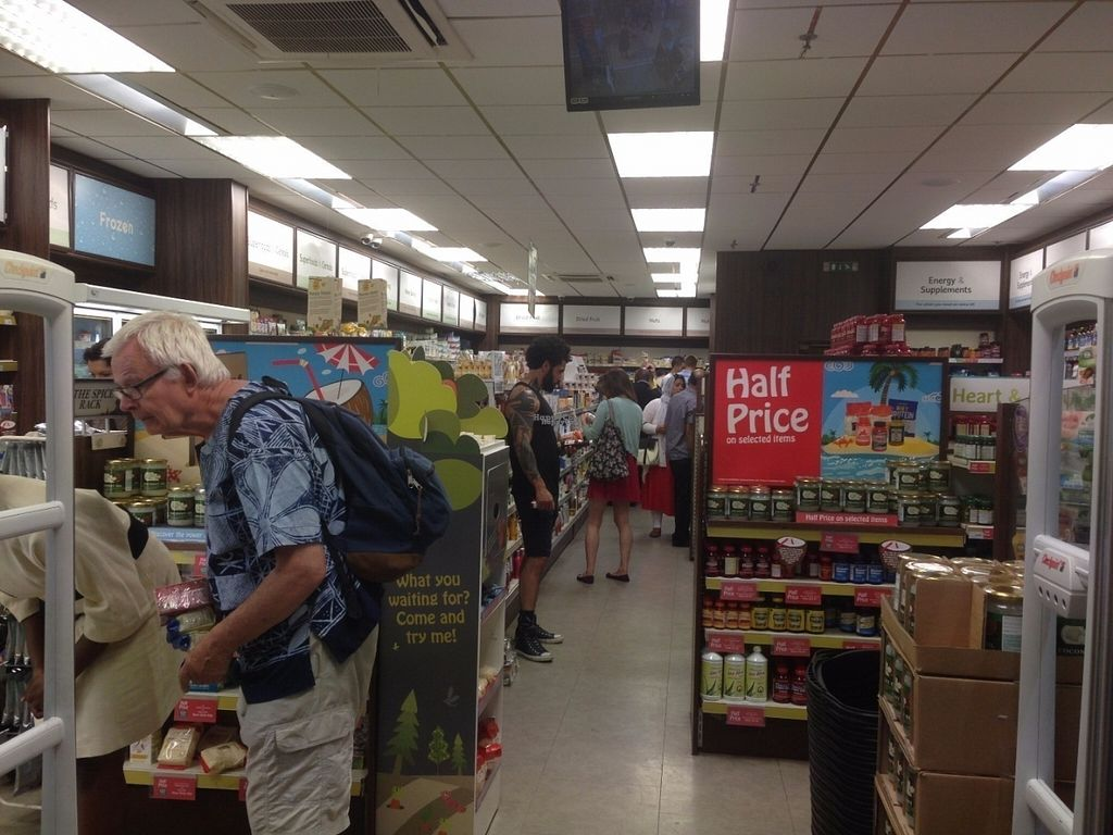 """Photo of Holland and Barrett - Lewisham  by <a href=""""/members/profile/Clare"""">Clare</a> <br/>Inside store <br/> August 3, 2016  - <a href='/contact/abuse/image/77953/165164'>Report</a>"""