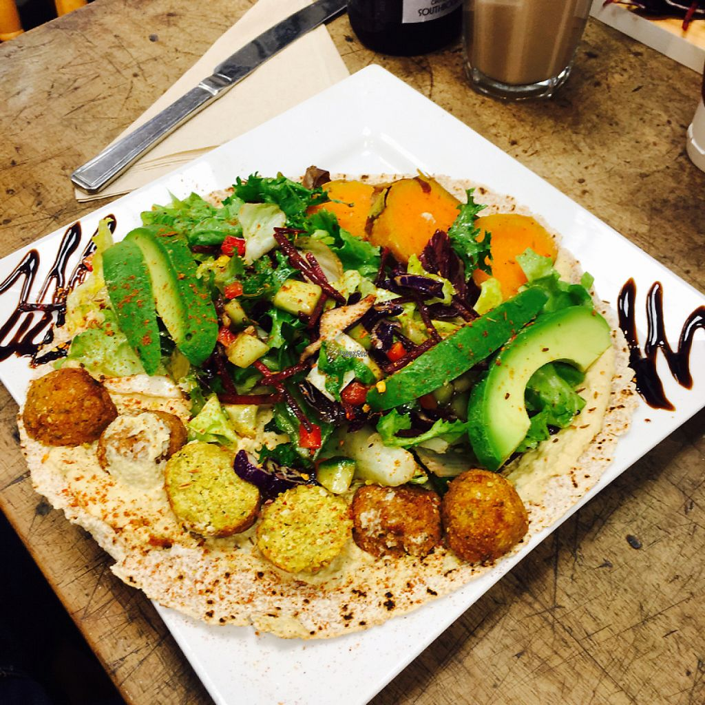 """Photo of PURE Cuisine  by <a href=""""/members/profile/Lolieke"""">Lolieke</a> <br/>Mediterranean Wrap <br/> December 11, 2016  - <a href='/contact/abuse/image/77962/199336'>Report</a>"""