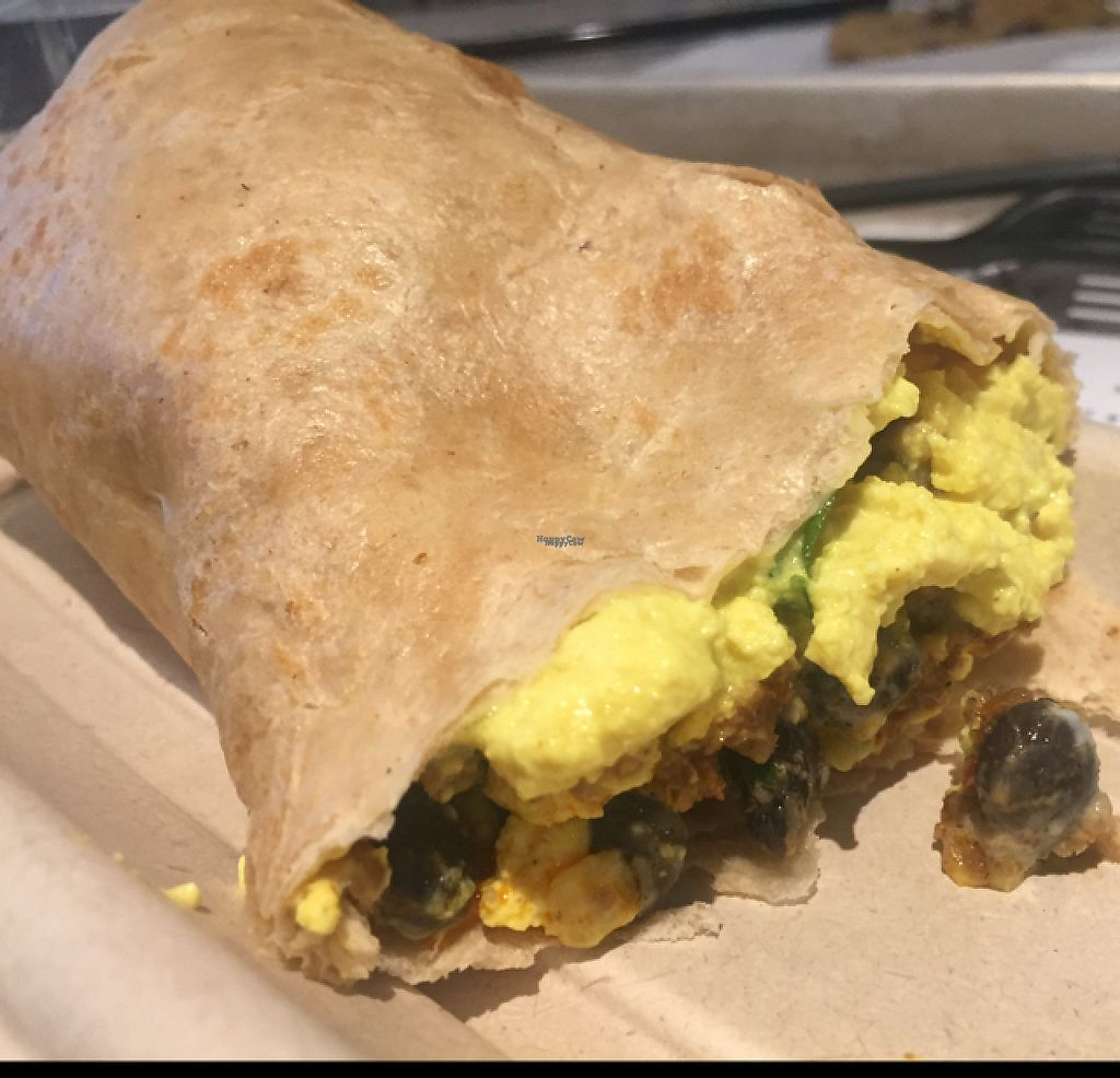 """Photo of By Chloe - Flatiron  by <a href=""""/members/profile/GMUGrad2002"""">GMUGrad2002</a> <br/>Sunrise breakfast burrito  <br/> December 28, 2016  - <a href='/contact/abuse/image/77964/205760'>Report</a>"""