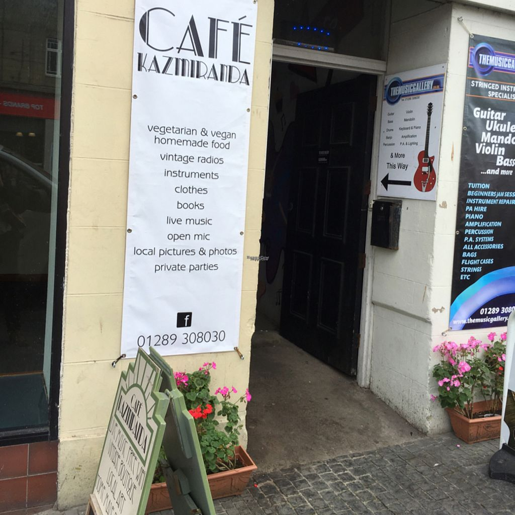 """Photo of CLOSED: Cafe Kazmiranda   by <a href=""""/members/profile/hack_man"""">hack_man</a> <br/>entrance on Marygate  <br/> August 4, 2016  - <a href='/contact/abuse/image/77968/165535'>Report</a>"""