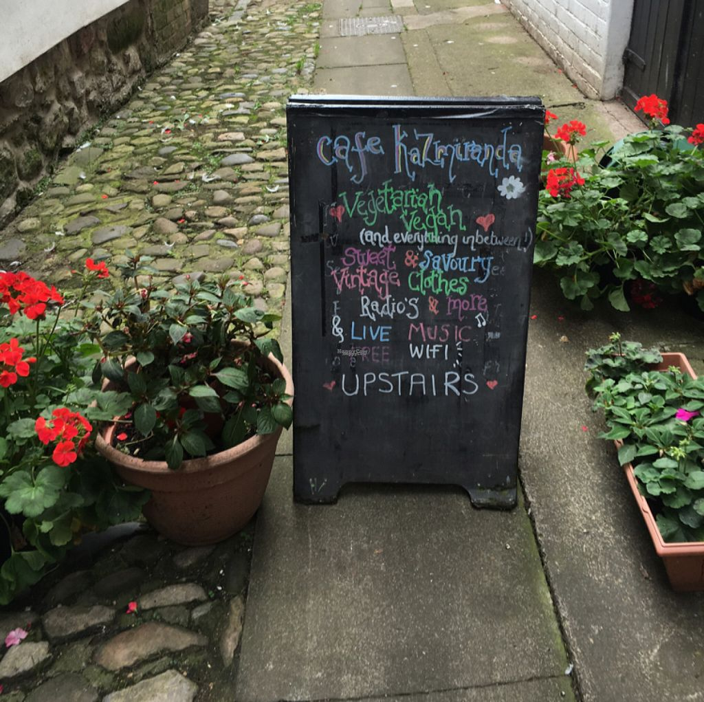 """Photo of CLOSED: Cafe Kazmiranda   by <a href=""""/members/profile/hack_man"""">hack_man</a> <br/>board outside  <br/> August 4, 2016  - <a href='/contact/abuse/image/77968/165538'>Report</a>"""