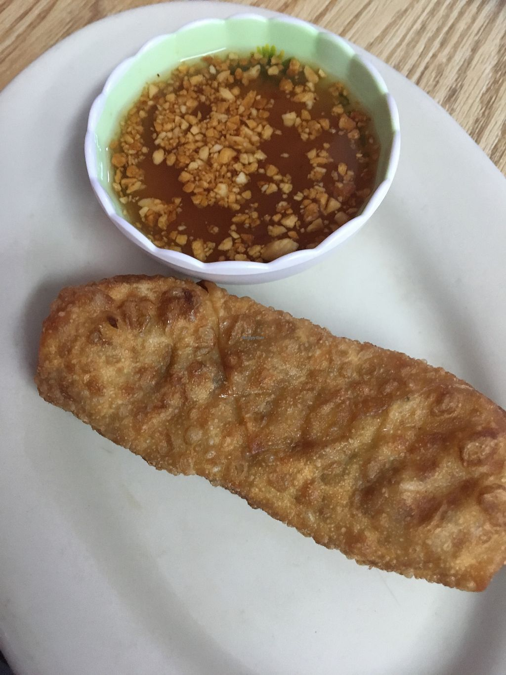 "Photo of Thai Thai Cafe   by <a href=""/members/profile/StephanieWilson"">StephanieWilson</a> <br/>Vegan egg roll <br/> May 19, 2018  - <a href='/contact/abuse/image/77977/402052'>Report</a>"