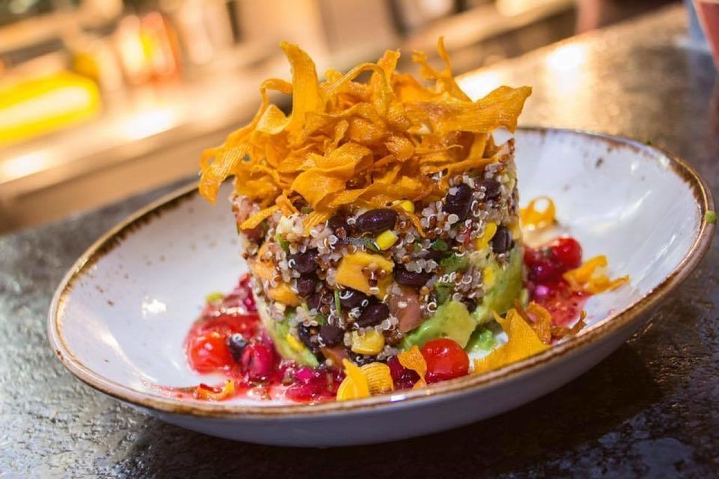 """Photo of Las Iguanas - Stratford Westfield  by <a href=""""/members/profile/Meaks"""">Meaks</a> <br/>Quiona Ensalata <br/> August 4, 2016  - <a href='/contact/abuse/image/77982/165300'>Report</a>"""