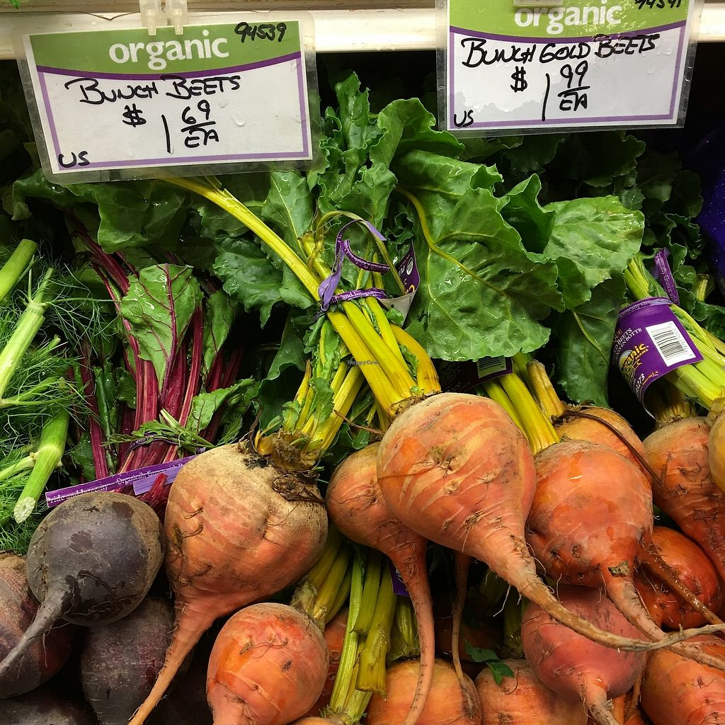 """Photo of Medford Food Co-op & The Cafe  by <a href=""""/members/profile/fbatzer%40gmail.com"""">fbatzer@gmail.com</a> <br/>Lovely organic produce department <br/> July 10, 2017  - <a href='/contact/abuse/image/77991/278558'>Report</a>"""