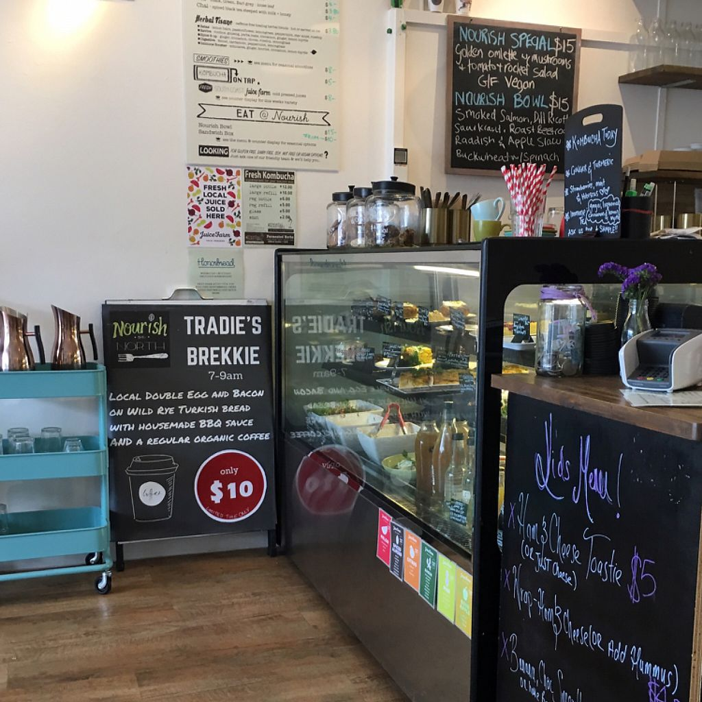 """Photo of Nourish on North   by <a href=""""/members/profile/LaPaloquecome"""">LaPaloquecome</a> <br/>Cafe decor  <br/> March 30, 2017  - <a href='/contact/abuse/image/77995/242546'>Report</a>"""