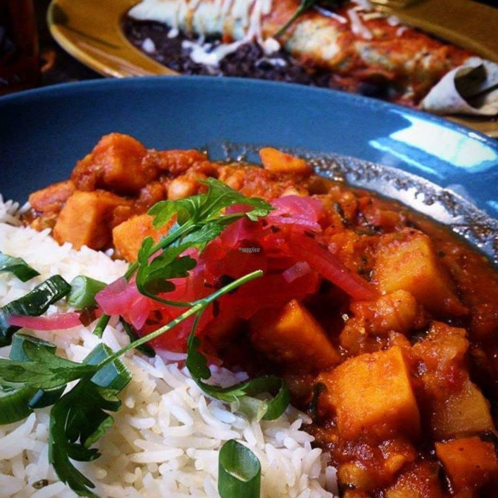 """Photo of Las Iguanas  by <a href=""""/members/profile/Meaks"""">Meaks</a> <br/>Veggie Chilli <br/> August 4, 2016  - <a href='/contact/abuse/image/78039/165479'>Report</a>"""