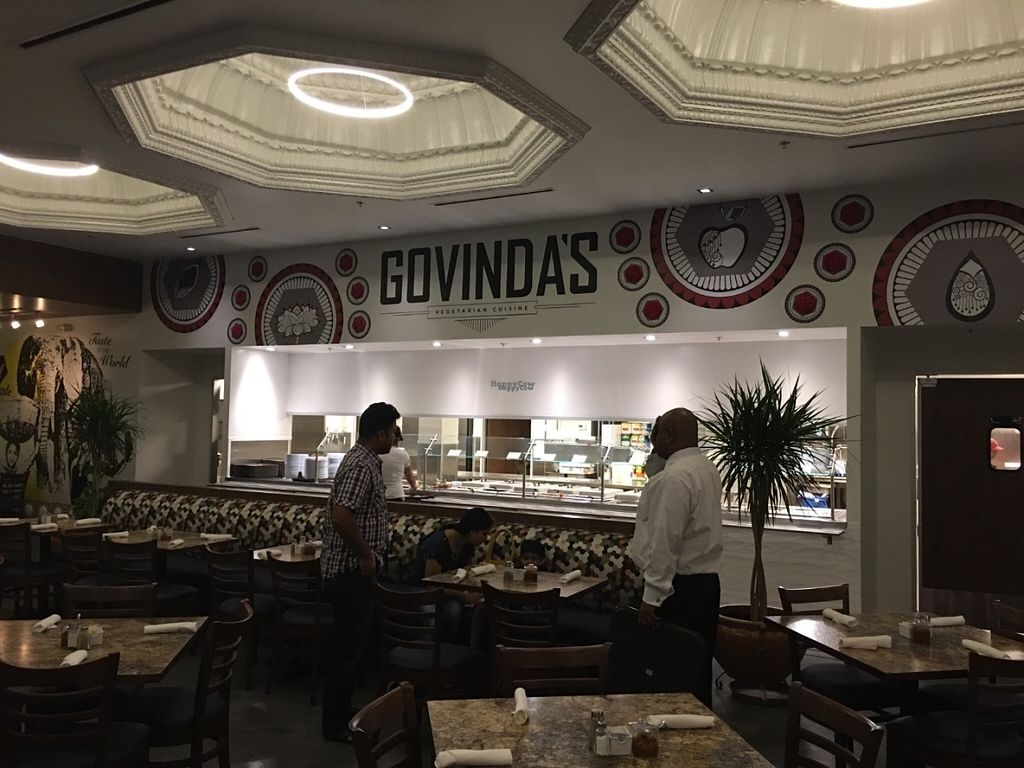 """Photo of Govinda's  by <a href=""""/members/profile/gokartmozart"""">gokartmozart</a> <br/>Large dining room <br/> October 17, 2016  - <a href='/contact/abuse/image/78041/182556'>Report</a>"""