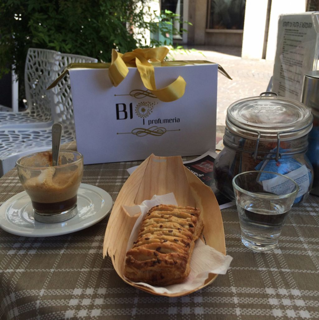 "Photo of Sbico Bar  by <a href=""/members/profile/amn060708"">amn060708</a> <br/>Vegan Brioche and Orzo with Soy Latte <br/> August 5, 2016  - <a href='/contact/abuse/image/78044/165800'>Report</a>"