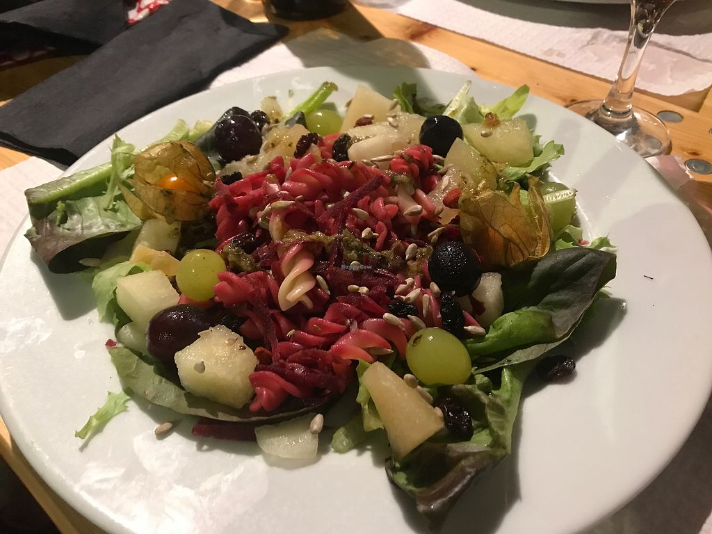 """Photo of Casa da Rosa  by <a href=""""/members/profile/VeganKH"""">VeganKH</a> <br/>Sexy Salad <br/> August 3, 2017  - <a href='/contact/abuse/image/78048/288239'>Report</a>"""