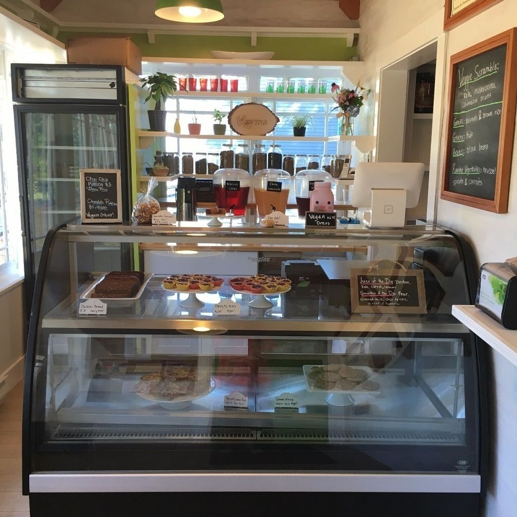 """Photo of Karma Foods  by <a href=""""/members/profile/karmafoods"""">karmafoods</a> <br/>Great selection of gluten-free, dairy-free and vegan treats <br/> August 9, 2016  - <a href='/contact/abuse/image/78057/167172'>Report</a>"""