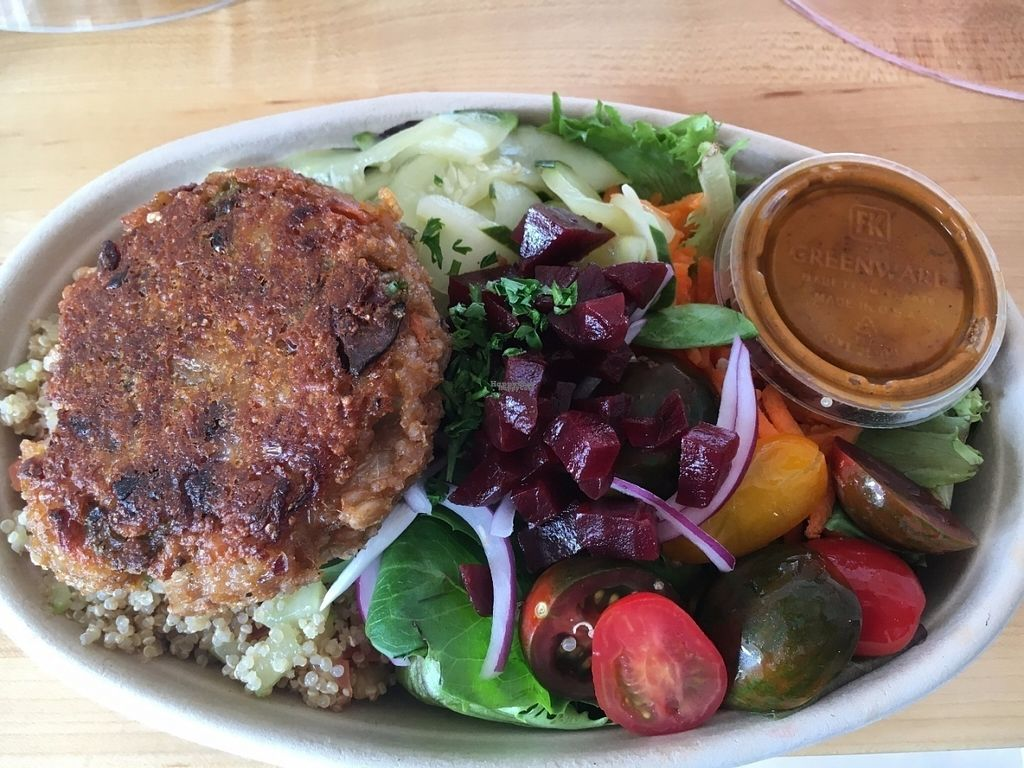 """Photo of Karma Foods  by <a href=""""/members/profile/karmafoods"""">karmafoods</a> <br/>Burger Bowl <br/> August 9, 2016  - <a href='/contact/abuse/image/78057/167173'>Report</a>"""
