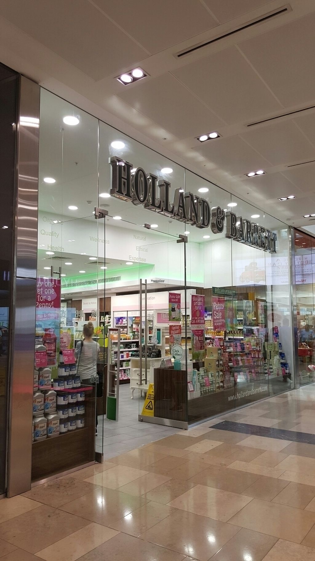 "Photo of Holland & Barrett - Westfield  by <a href=""/members/profile/Clare"">Clare</a> <br/>front <br/> March 12, 2017  - <a href='/contact/abuse/image/78058/235491'>Report</a>"