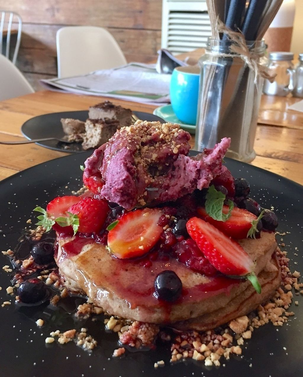 "Photo of The Storehouse  by <a href=""/members/profile/karlaess"">karlaess</a> <br/>Buckwheat pancakes <br/> April 30, 2017  - <a href='/contact/abuse/image/78076/254028'>Report</a>"