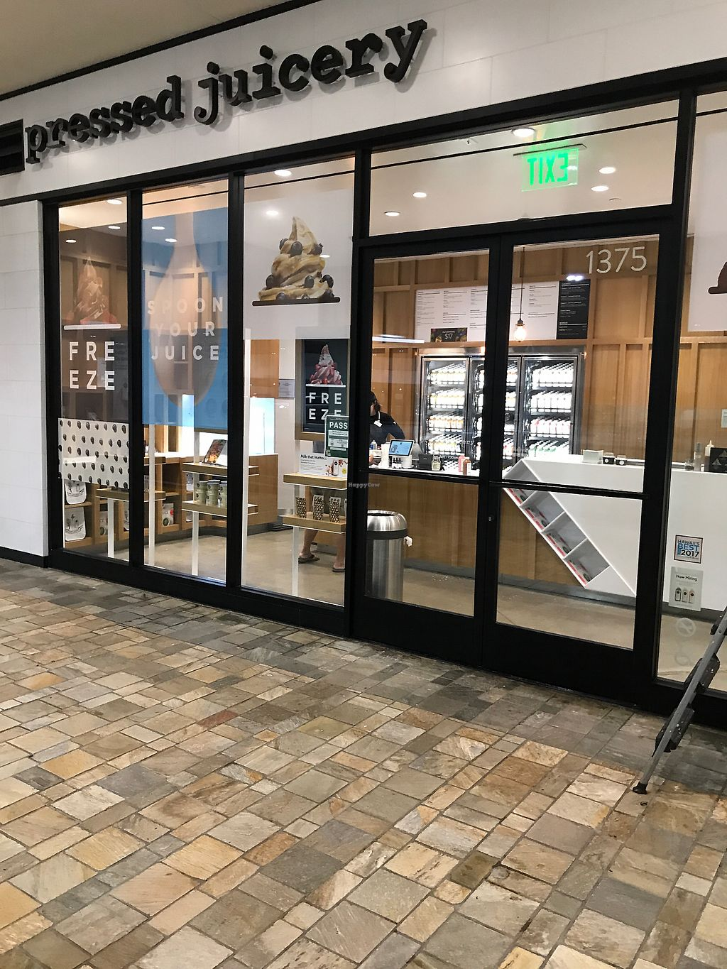 "Photo of Pressed Juicery  by <a href=""/members/profile/DerekHowlett"">DerekHowlett</a> <br/>Located on the outside of the mall in the parking garage by Bloomingdales  <br/> December 19, 2017  - <a href='/contact/abuse/image/78078/337333'>Report</a>"