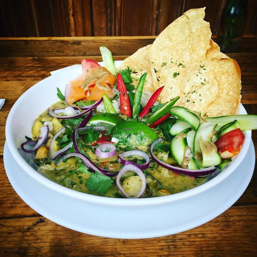 """Photo of Coopers Cask  by <a href=""""/members/profile/Meaks"""">Meaks</a> <br/>Thai Green Curry <br/> August 10, 2016  - <a href='/contact/abuse/image/78097/167526'>Report</a>"""