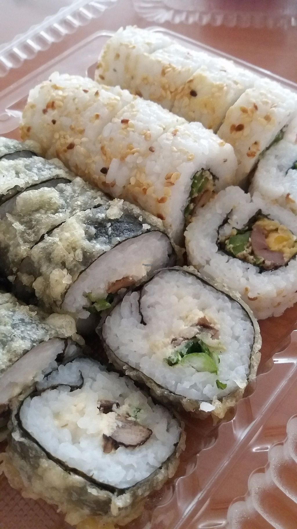 """Photo of Runaway Sushi  by <a href=""""/members/profile/Arta"""">Arta</a> <br/>Vegan promo <br/> March 17, 2017  - <a href='/contact/abuse/image/78099/237629'>Report</a>"""