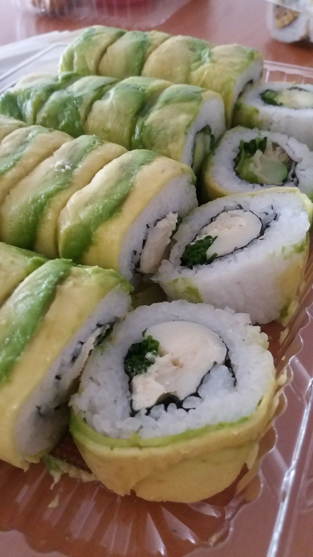 """Photo of Runaway Sushi  by <a href=""""/members/profile/Arta"""">Arta</a> <br/>Vegan promo <br/> March 17, 2017  - <a href='/contact/abuse/image/78099/237630'>Report</a>"""