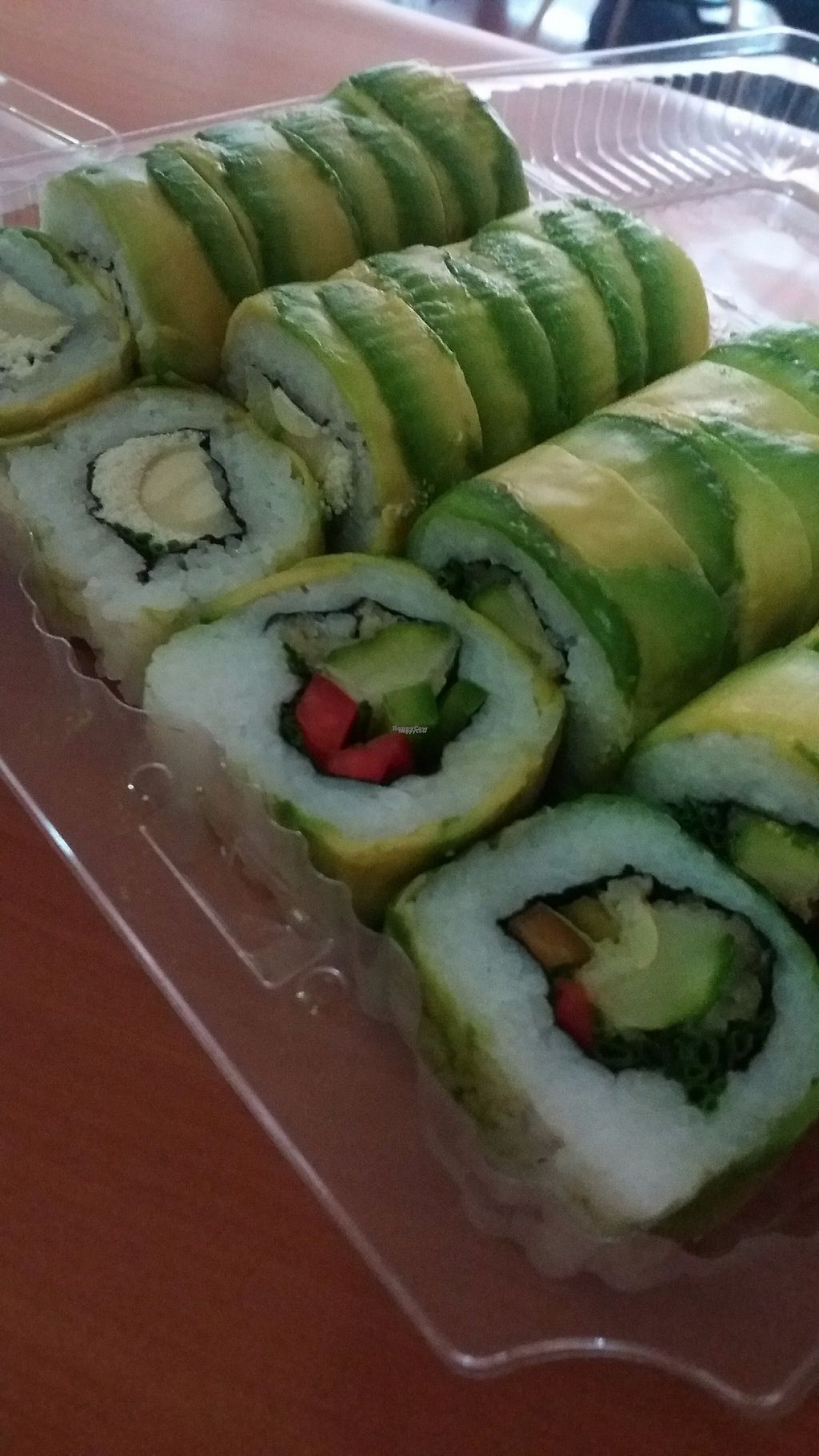 """Photo of Runaway Sushi  by <a href=""""/members/profile/Arta"""">Arta</a> <br/>Vegan promo <br/> March 17, 2017  - <a href='/contact/abuse/image/78099/237663'>Report</a>"""