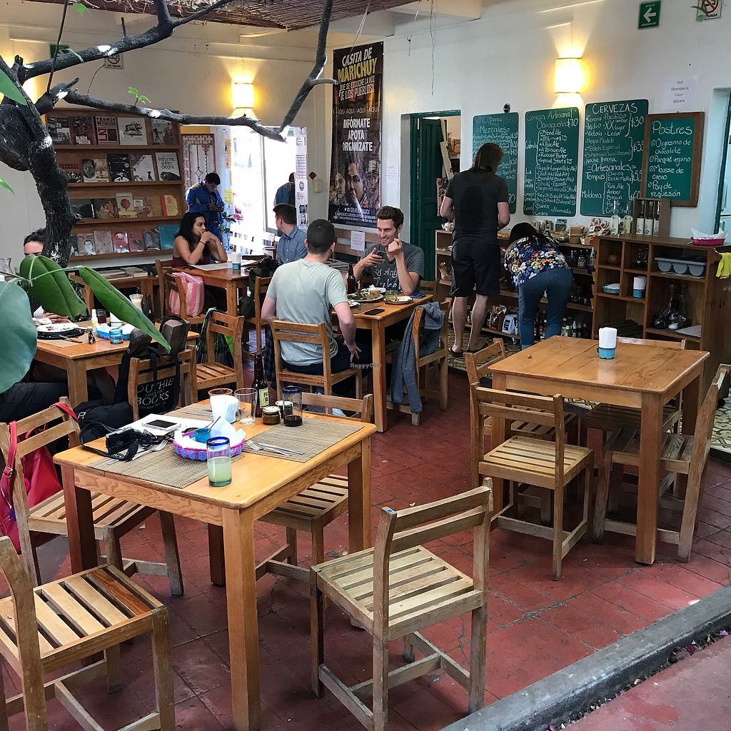 "Photo of La Jicara  by <a href=""/members/profile/earthville"">earthville</a> <br/>The cafe <br/> December 28, 2017  - <a href='/contact/abuse/image/78114/340247'>Report</a>"