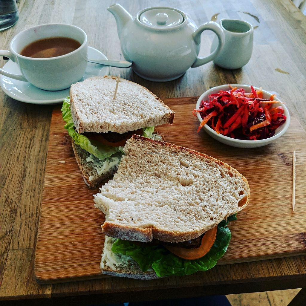 "Photo of The Cornish Vegan  by <a href=""/members/profile/SophieJayneHeads"">SophieJayneHeads</a> <br/>TLT Tofu lettuce and tomato <br/> February 13, 2018  - <a href='/contact/abuse/image/78123/358845'>Report</a>"