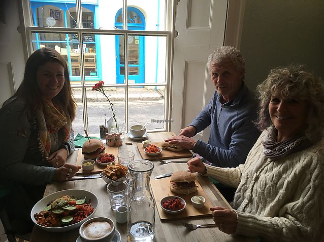 "Photo of The Cornish Vegan  by <a href=""/members/profile/jemk"">jemk</a> <br/>Yum family lunch! <br/> March 23, 2018  - <a href='/contact/abuse/image/78123/374837'>Report</a>"