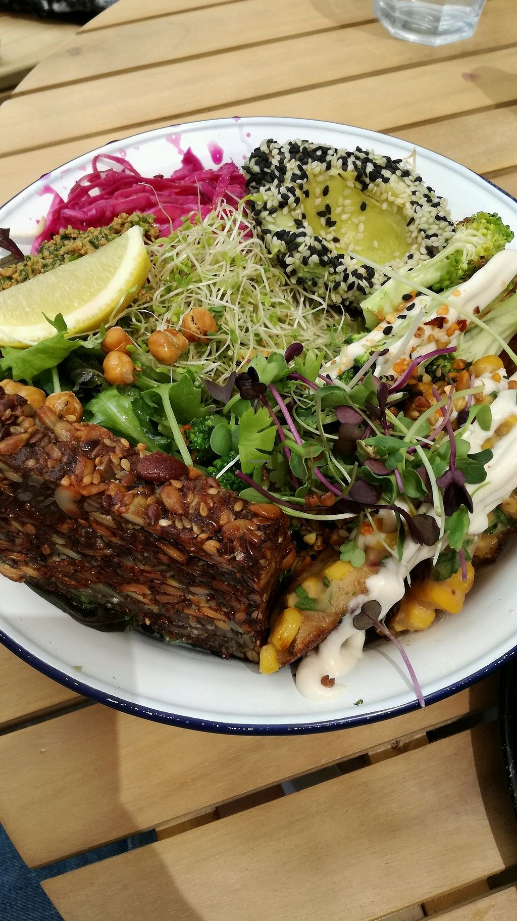 """Photo of Wild One Wholefoods Eatery   by <a href=""""/members/profile/evajelen"""">evajelen</a> <br/>Suumer Wild Bowl with extra seed loaf <br/> January 19, 2018  - <a href='/contact/abuse/image/78133/348198'>Report</a>"""