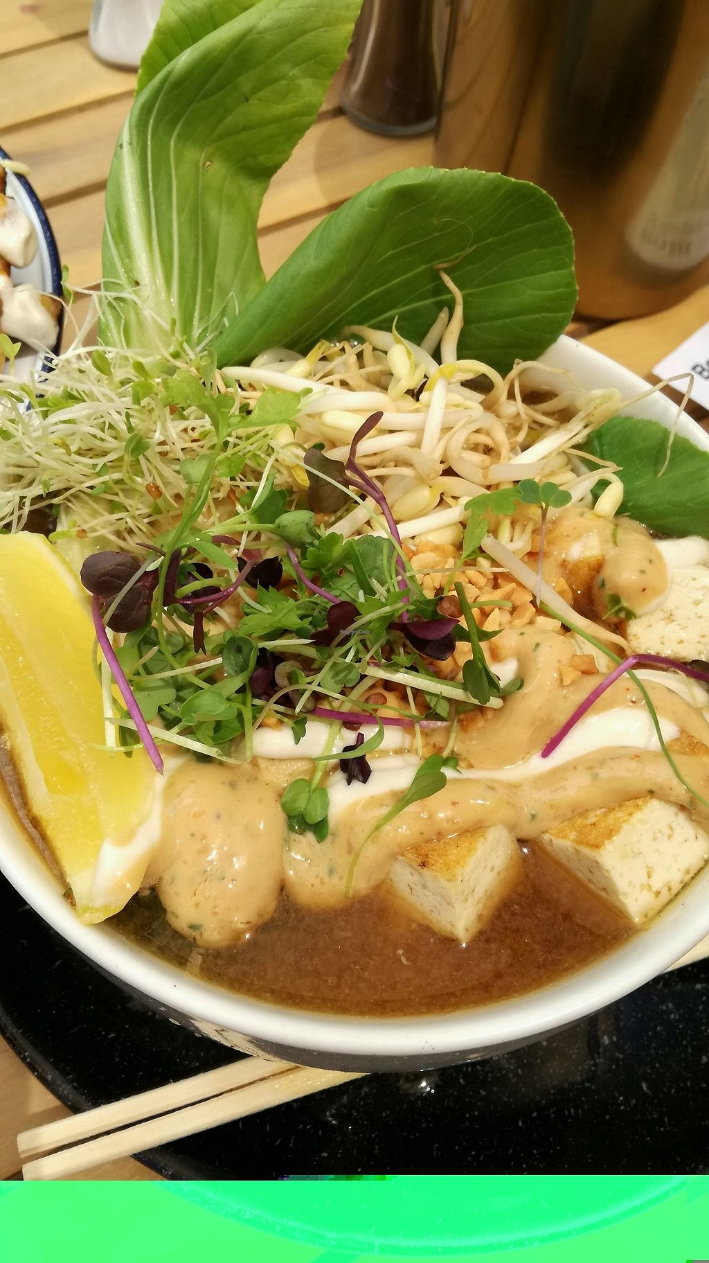 """Photo of Wild One Wholefoods Eatery   by <a href=""""/members/profile/evajelen"""">evajelen</a> <br/>miso noodle bowl with tofu was amazing <br/> January 19, 2018  - <a href='/contact/abuse/image/78133/348199'>Report</a>"""