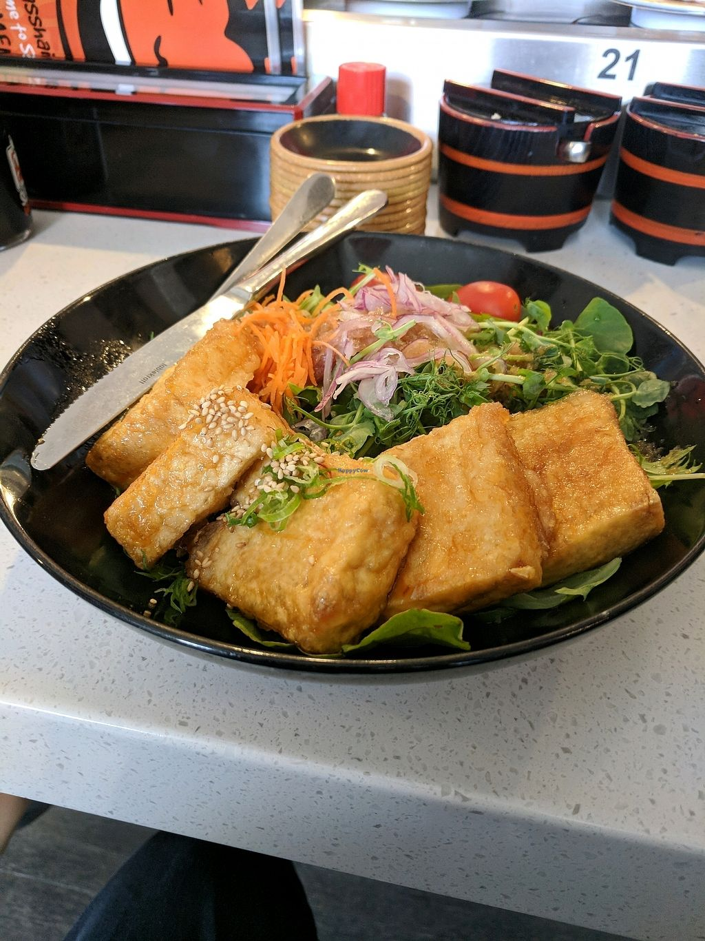 """Photo of Sushi Wawa  by <a href=""""/members/profile/RIPdemon"""">RIPdemon</a> <br/>Fried Tofu  <br/> January 4, 2018  - <a href='/contact/abuse/image/78136/342811'>Report</a>"""