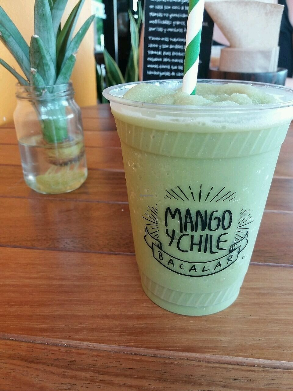 "Photo of Mango y Chile  by <a href=""/members/profile/Doro%2A"">Doro*</a> <br/>matcha frappe <br/> October 4, 2017  - <a href='/contact/abuse/image/78156/311549'>Report</a>"